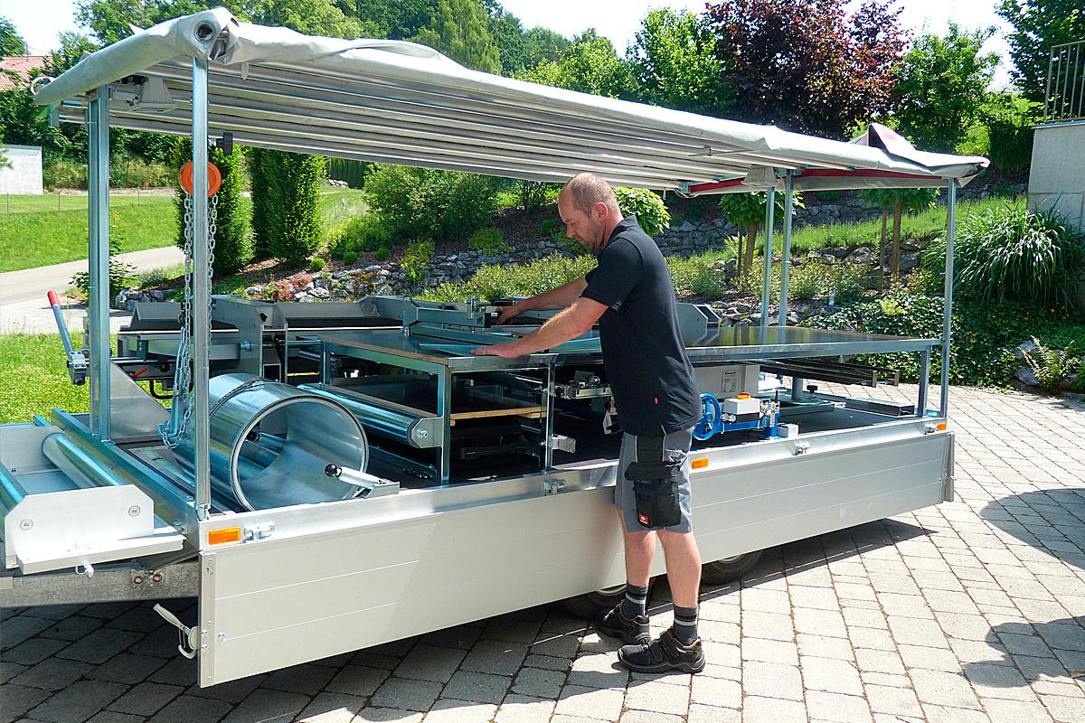 148 gebraucht mobile simotec mobile betonmischanlage for Gebraucht mobile